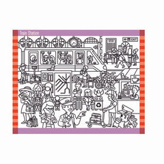 30150 Seek & Find Sticker Pad - Around Town
