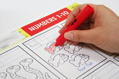 5029 Numbers 1-10 Write-A-Mat (Bundle of 6)