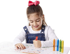 4279 Learning Mat Crayons (5 colors)