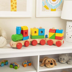 30544 Wooden Jumbo Stacking Train Classic