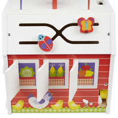 30128 First Play Slide, Sort & Roll Activity Barn