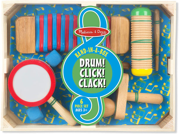 8962 Band-in-a-Box Drum! Click! Clack! 3+