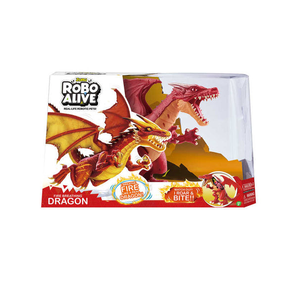36677EFA  ROBO ALIVE DRAGON RED