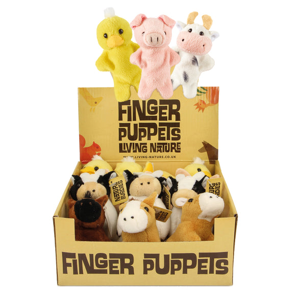 Farm Finger Puppets