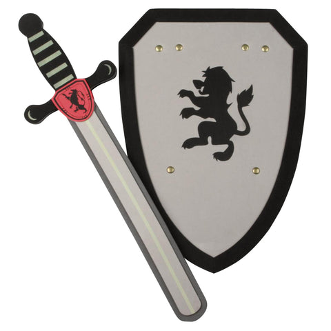 Foam Sword & Shield Silver