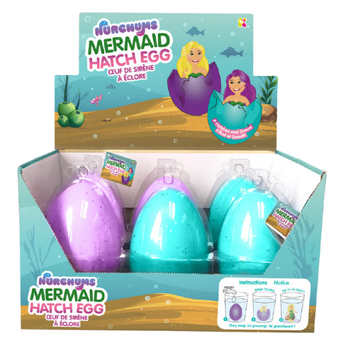 NURCHUMS Large Mermaid Hatching Eggs