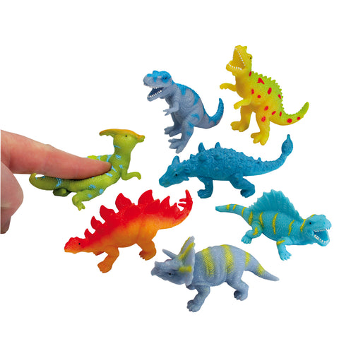 Small Stretchy Beanie Dinosaurs