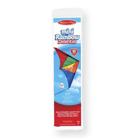 30208 Mini Rainbow Delta Kite 3+
