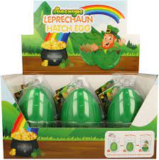 NURCHUMS Large Leprechaun Hatching Eggs