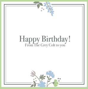 The Grey Colt Birthday Gift Card
