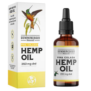 Load image into Gallery viewer, Full Spectrum Hemp Oil Piña Colada - Hummingbird Botanicals