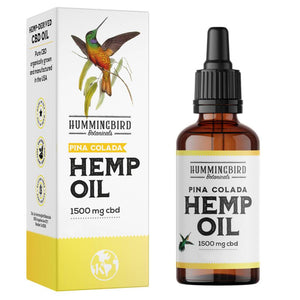 Full Spectrum Hemp Oil Piña Colada - Hummingbird Botanicals