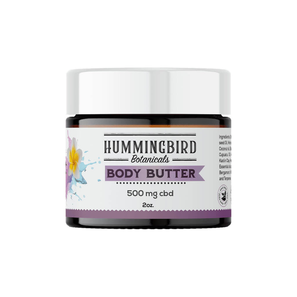 Hemp Infused Body Butter - Hummingbird Botanicals