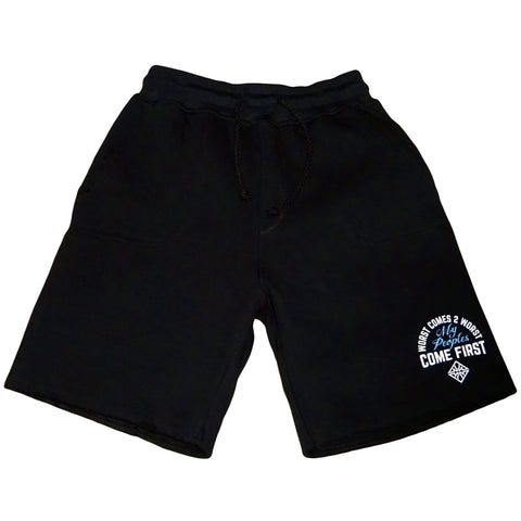 WORST COMES 2 WORST SHORTS BLACK