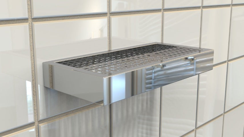 Libera shower shelf