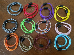 12 New born deluxe & 12 Regular deluxe paracord Puppy ID Collars - Puppy Collars & Things