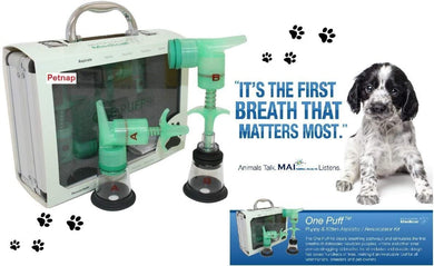 one puff puppy & kitten aspirator/resuscitator - Puppy Collars & Things