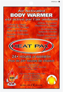 HEAT PAX BODY WARMERS - Air Activated. 8 for our heat blanket. - Puppy Collars & Things