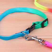 Load image into Gallery viewer, Rainbow puppy collar and lead set - Puppy Collars & Things