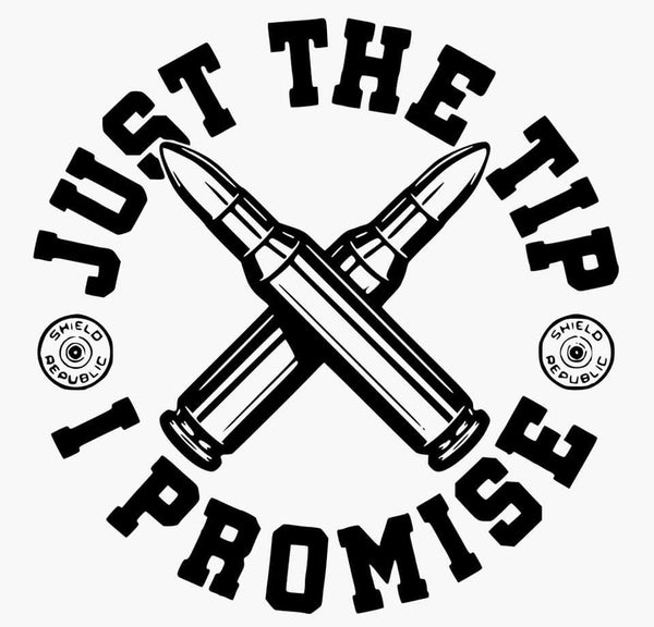 Just The Tip Decal
