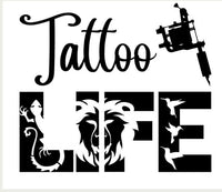 Tattoo Life Decal