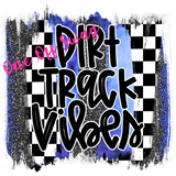 30oz Dirt Track Vibes Tumbler Various Colors Available