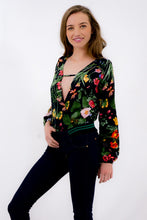 Load and play video in Gallery viewer, Long Sleeve Blouse body with Ornament