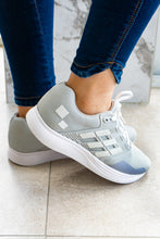 Load image into Gallery viewer, Grey Lightweight Walking Sneakers