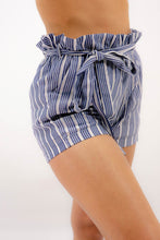 Load and play video in Gallery viewer, Casual Striped Beach Shorts