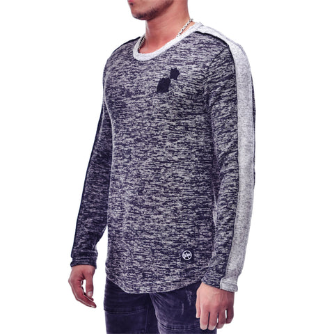 Side Striped Sweater - Zzyzx Road Apparel