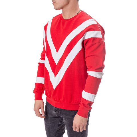 Triangle Striped Flowing Sweater - Zzyzx Road Apparel