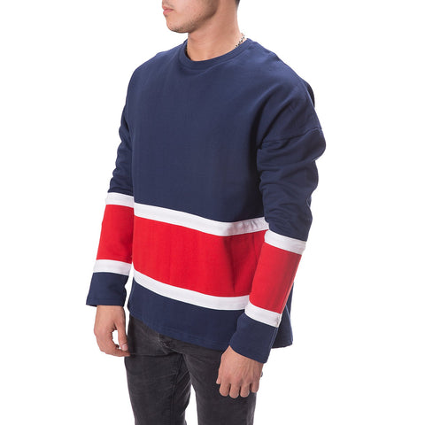 Flowing Striped Sweatshirt - Zzyzx Road Apparel