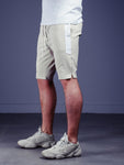 Waistband and Drawstring Striped Shorts - Zzyzx Road Apparel