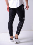 Ankle Pants Front and Side Stripes - Zzyzx Road Apparel