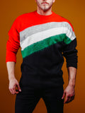 Block Color Knitwear Cardigan - Zzyzx Road Apparel