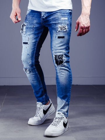 Bleached Stonewashed Jeans - Zzyzx Road Apparel