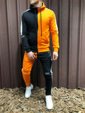 B & Orange Tracksuit - Zzyzx Road Apparel