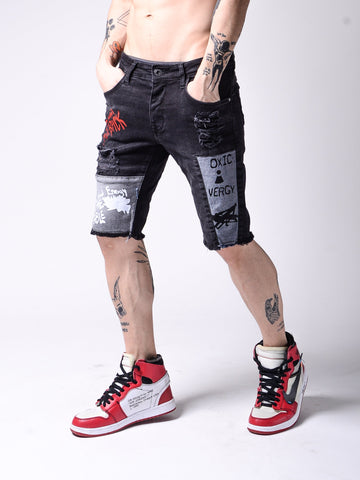 Toxic Denim Shorts - Zzyzx Road Apparel