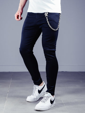Black Stretch Pants Skinny Fit - Zzyzx Road Apparel