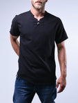 Black Button Up Shirt Fringed - Zzyzx Road Apparel
