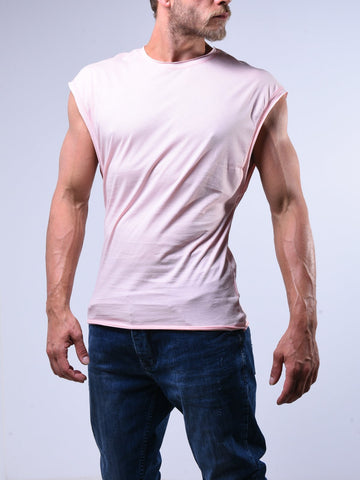 Pink Sleeveless T-Shirt - Zzyzx Road Apparel