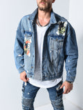 Denim Jacket Art Patch - Zzyzx Road Apparel
