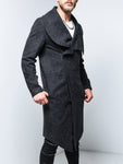 Black Overcoat - Zzyzx Road Apparel