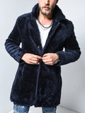 Navy Blue Plush Jacket - Zzyzx Road Apparel