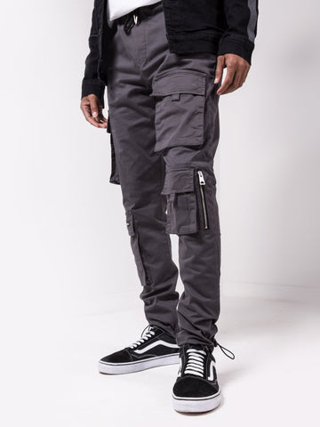 Gray Jogger Pants - Zzyzx Road Apparel