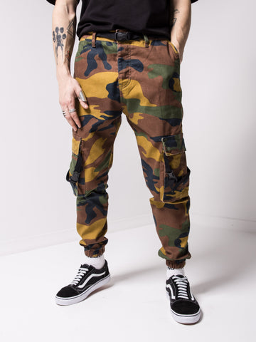 Camouflage Cargo Jeans - Zzyzx Road Apparel