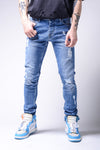 Light Blue Ripped Jeans - Zzyzx Road Apparel