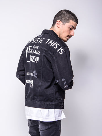 """This Is It"" Denim Jacket - Zzyzx Road Apparel"