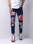 Comic Books Navy Jeans - Zzyzx Road Apparel