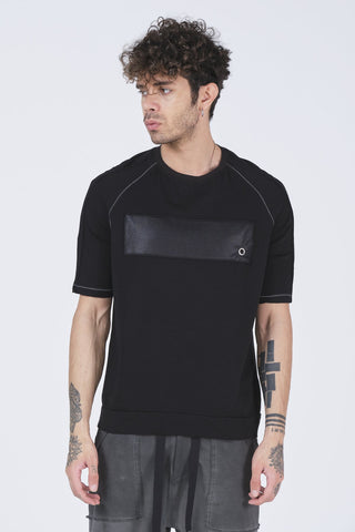 Black Modern Patch T-shirt - Zzyzx Road Apparel